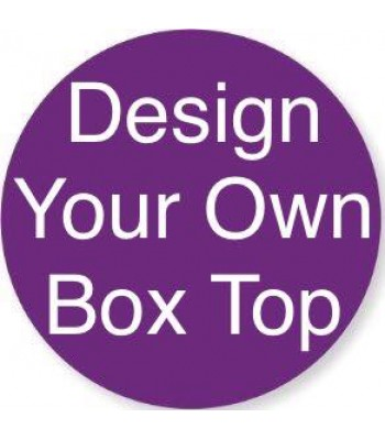 Laser Cut 'Design Your Own' Box Frame Top - Box Size 4
